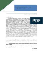 CARTA DE PREDICACIÓN