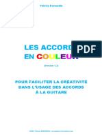 Method Chord Guitar in Colors ( French)