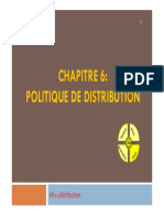 Chapitre 6 Politique de Distribution