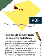 tecnicas de alimentacion del px pediatrico