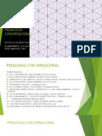 PEDAGOGIA DE LA CONVERSABILIDAD