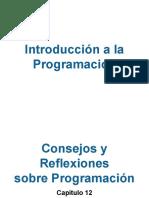 Unidad 12 - Consejos y Reflexiones Sobre Programación