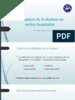 Evaluation de La Douleur en Milieu Hospitaloer (1) - Copie