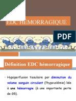EDC Hémorragique