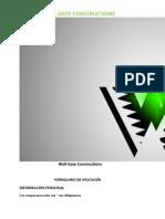 FORMULARIO DE SOLICITUD URGENTE (Wall-Gate Constructions)