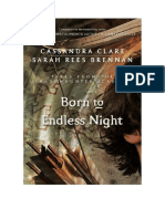 Cassandra Clare - Tales From The Shadowhunter Academy 9 - Born to Endless Night - (Nascido na Noite Infinita)