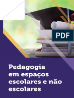 (Org.) Pedagogia em Espaços Escolares e não Escolares