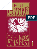 Os Filhos de Anansi - Neil Gaiman