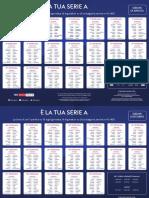 Calendario Serie a 2020 2021 Stampabile