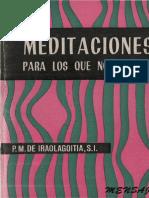 Meditaciones Para Los Que No Meditan
