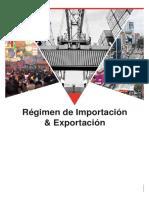 Material Régimen de Importación y Exportación