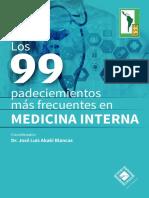 99 Padecimientos Mas Frecuentes en Medicina Interna