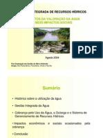 Microsoft PowerPoint - Gestão Intergrada dos Recursos Hídricos - Ana Bricio