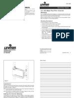 10-100 Mbps 4-Port Internet Gateway Quick Start Guide