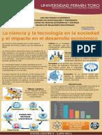 La ciencia y la tecnología en la sociedad y el impacto en él desarrollo económico