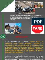 PRESENTACIÓN TEXTO LEY DE TRÁNSITO 18.290, Y MODIFICACIÓN LEY N° 20.580.FIJA TEXTO REFUNDIDO, COORDINADO Y SISTEMATIZADO DE LEY TTO