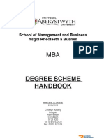 mba information handbook