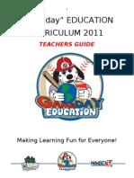 2011 Education Packet Teachers Guide