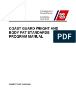 CG Weight and Body Fat Standards Program Manual