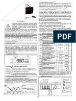 Manual Coel Y39 (Substitui o Full Gauge TC-900E Power)