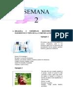 PSIC. COMUNICACION SEMANA 2-3 -