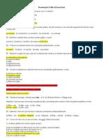 Lista de exercícios - Acentuação Gráfica - GABARITADO