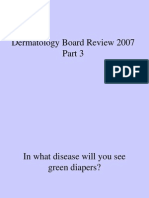 Dermatology Board Review 2007 Part 3