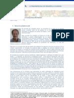 Exclusión social, inclusión social y desarrollo humano