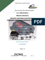 INVESTIGACION MOTORES ELECTRICOS (C.C)Y (C.D)