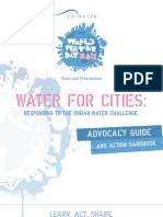 World Water Day 2011 Advocacy Guide