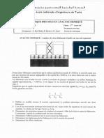 Examen Dynamique Des Sols Et Analyse Sismique 2 2011_2012
