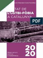 Informe anual LGTBI 2020