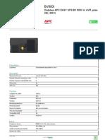 onduleur Easy-UPS_BV800I
