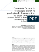 EDICAO DOCUMENTARIOS