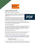 Depakote Birth Defects FAQ