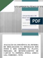Apresentação da monografia