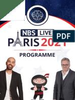 Programmation NBS Live Juin 2021