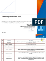 Taller Términos y definiciones HSEQ 2021