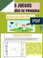 Manual de 40 Juegos Para Educación Física