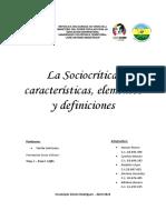 Sociocrítica.  características, elementos y definiciones