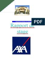 rapport de stage assurance 33p