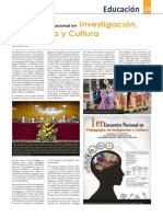 1er Encuentro Nacional en Investigación, Pedagogía y Cultura