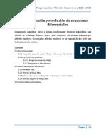 Unidad 5. Integracion y Resolución de Ecuaciones