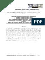 Evaporação - Aplicações industriais