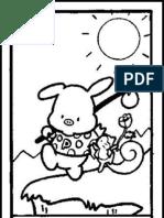 Hello Tarot 78 page Coloring Book