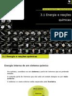 3_3.1 Energia e Reações Químicas
