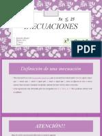 Matematicas ( Inecuaciones)