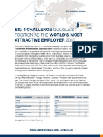 The World's Most Attractive Employers - Global Top 50 Rankings