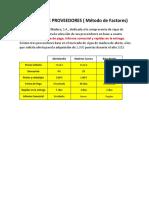 Desarrollo Elección Provedores 2B3T1XTM