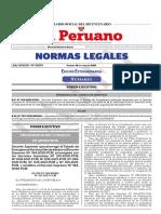 Decreto Supremo Que Prorroga El Estado de Emergencia Naciona Decreto Supremo n 123 2021 Pcm 1964882 1 Unlocked
